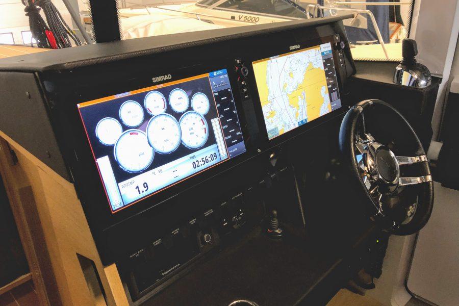 De cockpit van de Stormloper